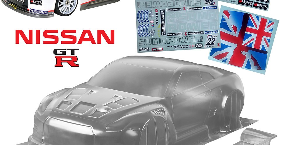Nissan GTR  (360mm)