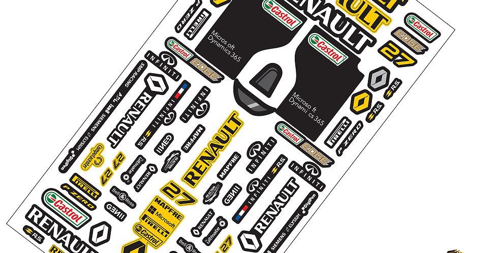 F1 Sticker Renault F1 Team