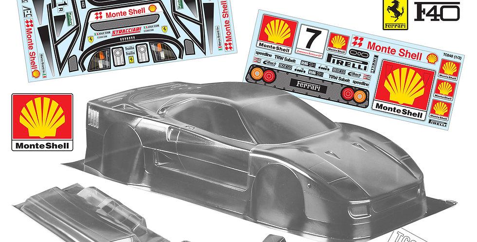 TC040 1/10 Ferrari F40, 190mm