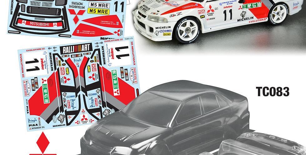 TC083 1/10 Mitsubishi Evolution III