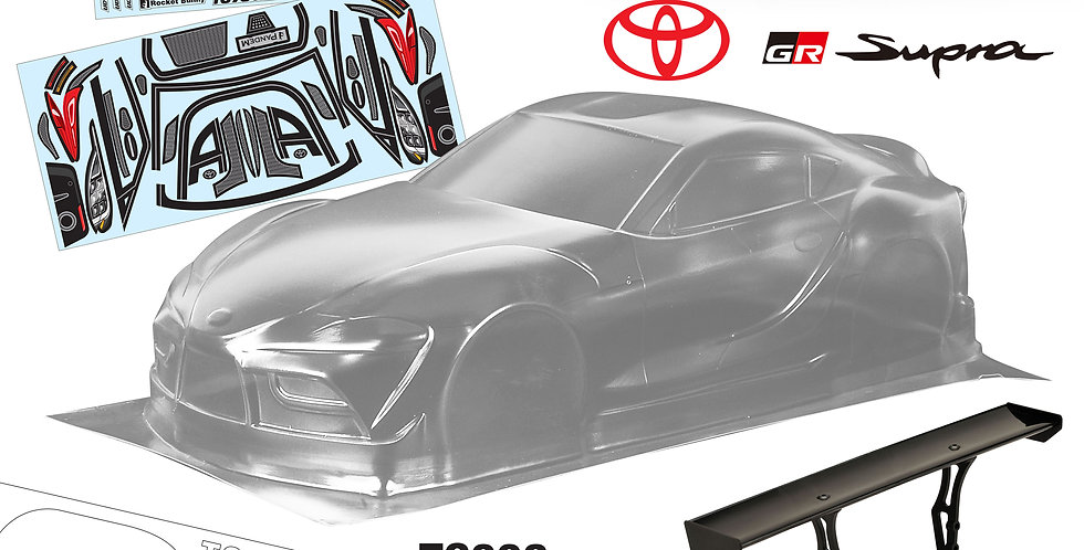 TC006 1/10 Toyota Supra GR, 190mm + H586