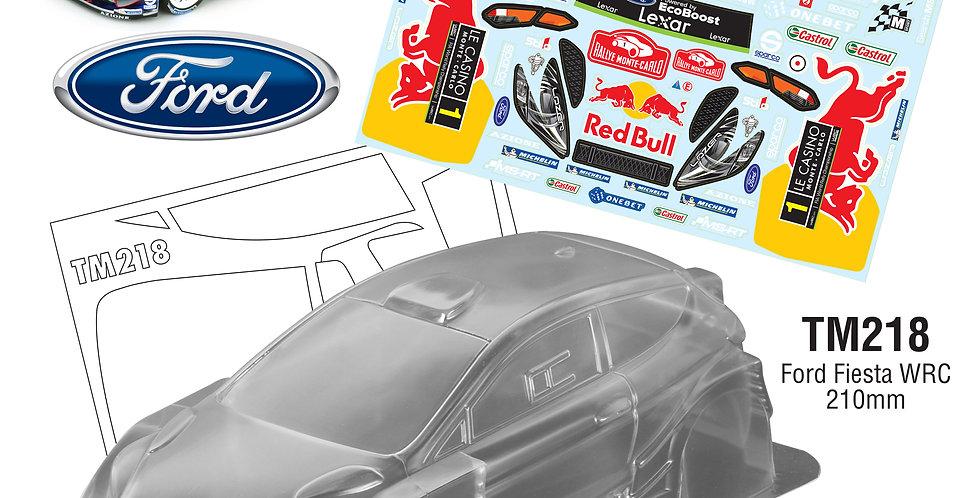 TM218 1/10 Mini Ford Fiesta WRC