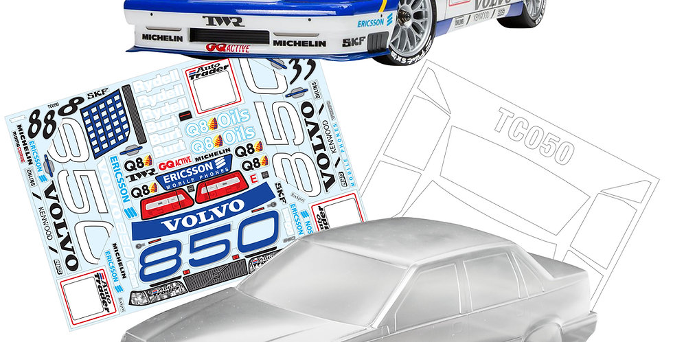 TC050 1/10 Volvo 850 BTCC