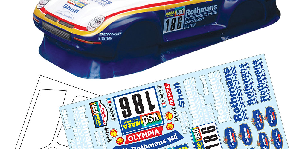 TM959 1/10 Mini Porsche 959