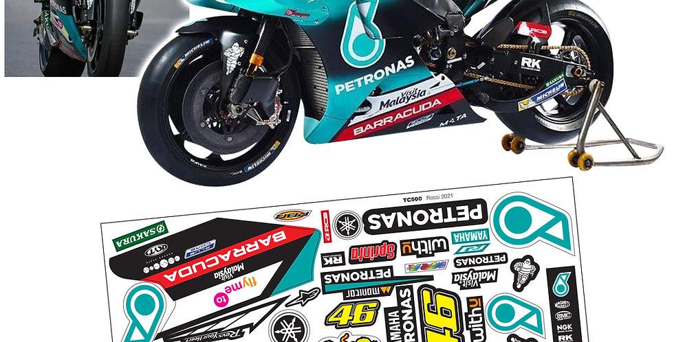 TC500 1/8 Honda NSR500 Sticker
