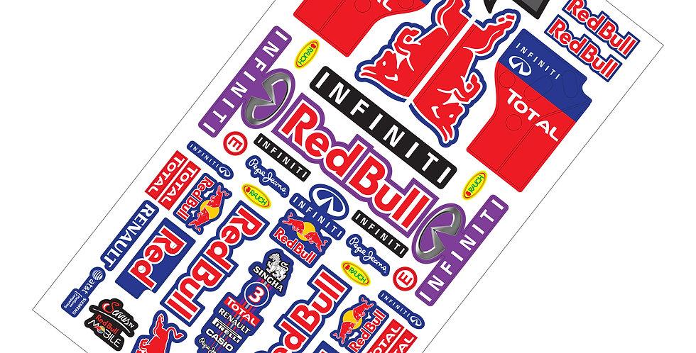 F1 Sticker Red Bull INFINITI