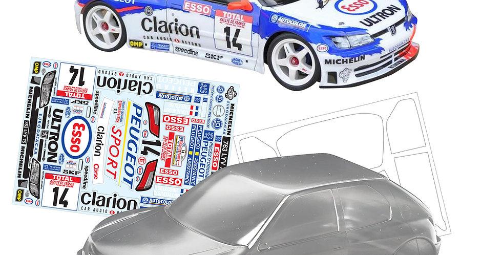 TC076 1/10 Peugeot 306