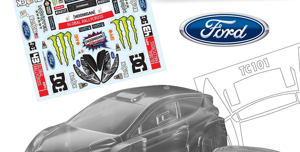 TC101 1/10 Ford Fiesta WRC