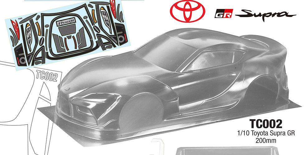 TC002 1/10 Toyota Supra GR, 200mm