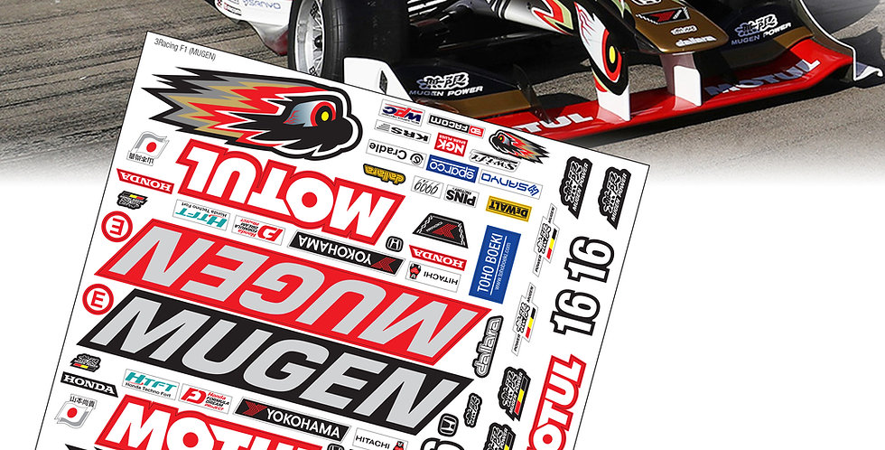 F1 Sticker Team Mugen