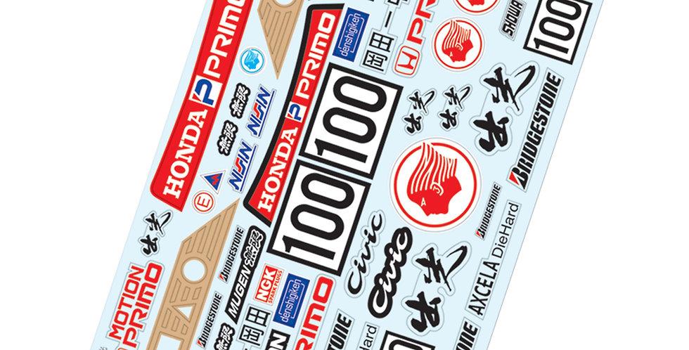 TC901 1/10 Idemitsu Sticker, A4