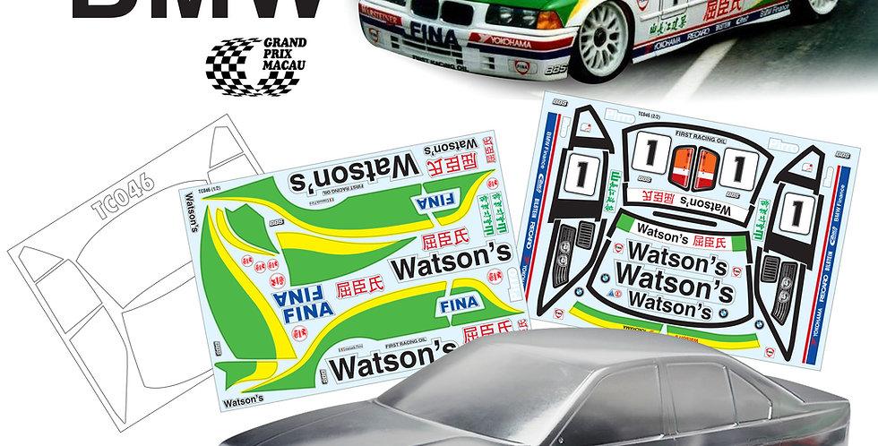 TC046 1/10 BMW E36, 190mm