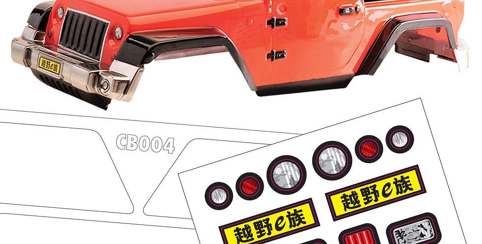 CB004 1/10 Crawler Body, 300mm