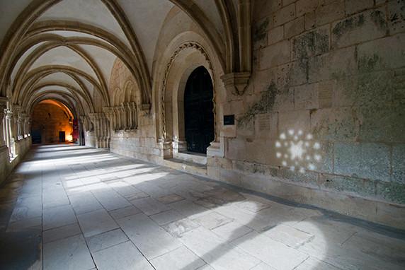 Le cloître du Couvent du Christ à Tomar ©Luc Teper