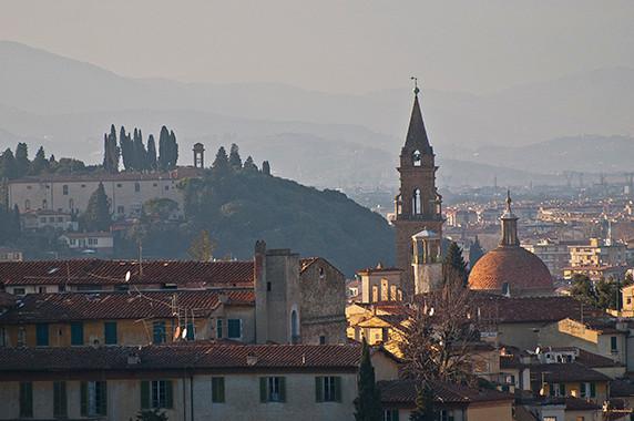 Florence vue de San Miniato al Monte © Luc Teper