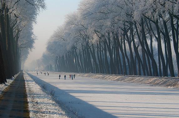 Le canal de Damme © Luc Teper