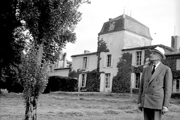 Négatif 10,5  cm x 6,3 cm noir et blanc Collection: Luce Leray Année: ? Lieu: Malagar
