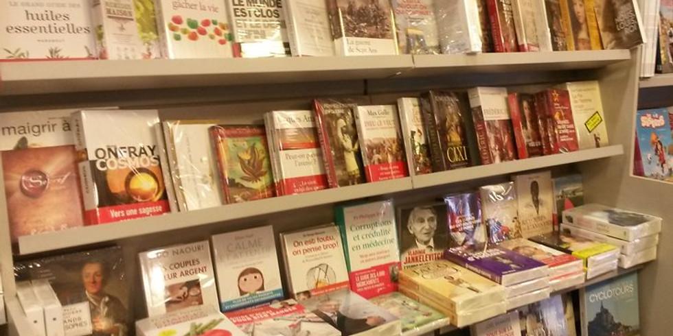 """Présentation de """"Maramisa"""" à la librairie des Saules (Ohain)"""