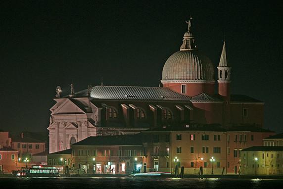 San Giorgio Maggiore au crépuscule ©Luc Teper