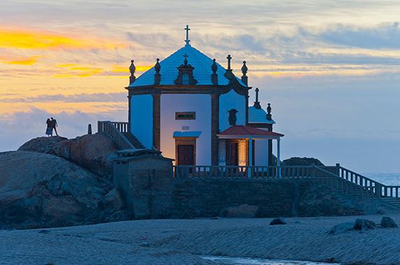 La chapelle Senhora da Pedra à Miramar © Luc Teper