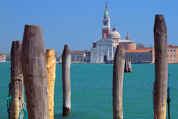 San Giorgio Maggiore vue des Zattere ©Luc Teper