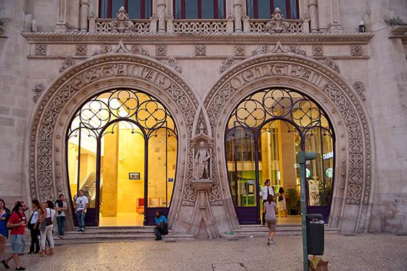 Gare ferroviaire du Rossio (Lisbonne) ©Luc Teper