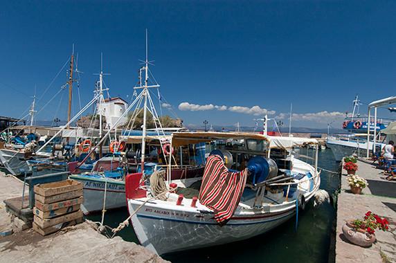 La marina d'Efthalou © Luc Teper