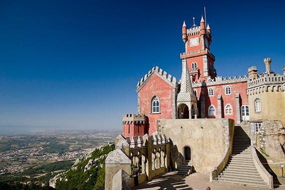Château de La Pena (Sintra) ©Luc Teper