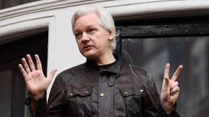 Julian Assange risque 175 ans de prison aux Etats-unis. - © JUSTIN TALLIS - AFP
