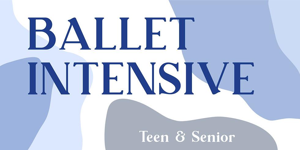Teen/Senior Ballet Intensive