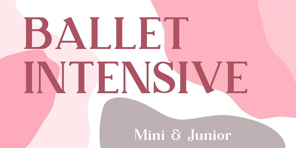 Mini/Junior Ballet Intensive