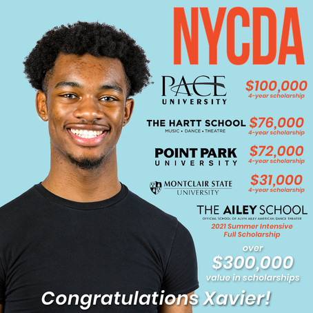 Congratulations Xavier!