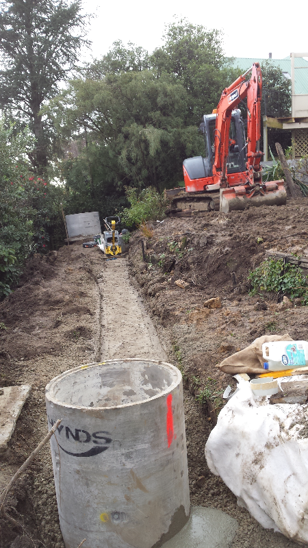 Huntsbury Hill Sewer Relocation
