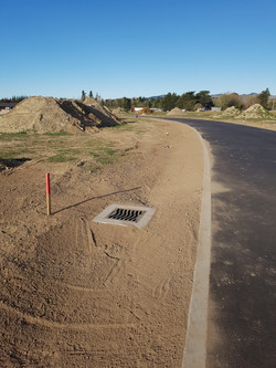 Swale, Subsoil Drains and Sumps
