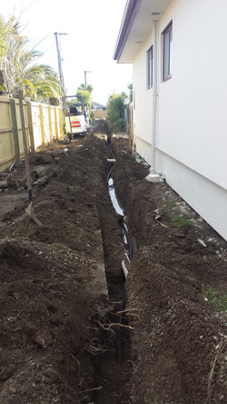 Pumped Storm Water Line