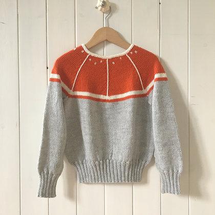 Kit til Appelsin Sweater