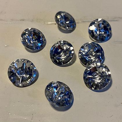 Klar krystal, 13 mm
