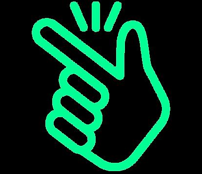 green noun_snap finger_2889553.png