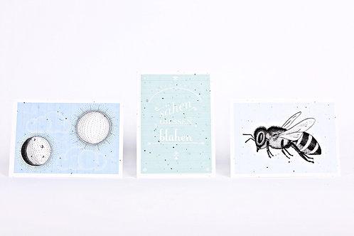 Kartenset aus Samenpapier - Simon Büchler
