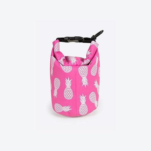 Ananas Schwimmbeutel Mini Pink
