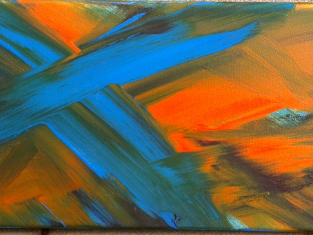 Abstrakte Impressionistin