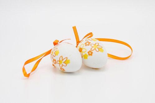 """Ostereier """"orange flower"""""""