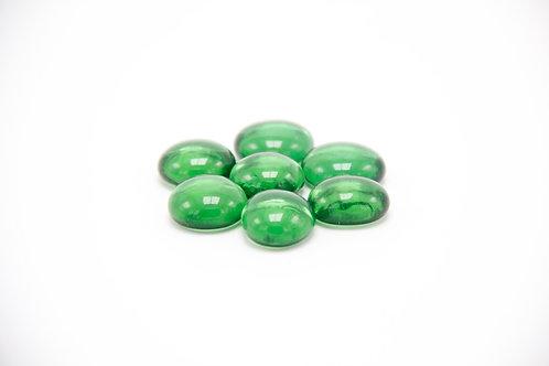 Glas-Perlen grün