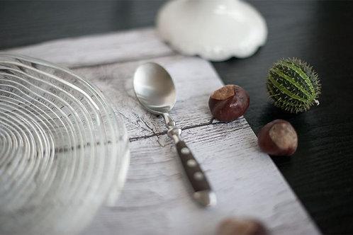 Tischsets «Holz Shabby-White»