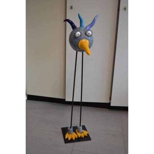 Keramik-Vogel