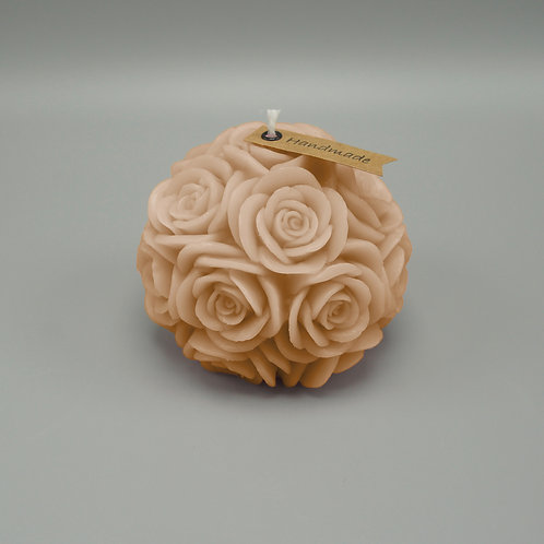 Rosenkerze (sand)