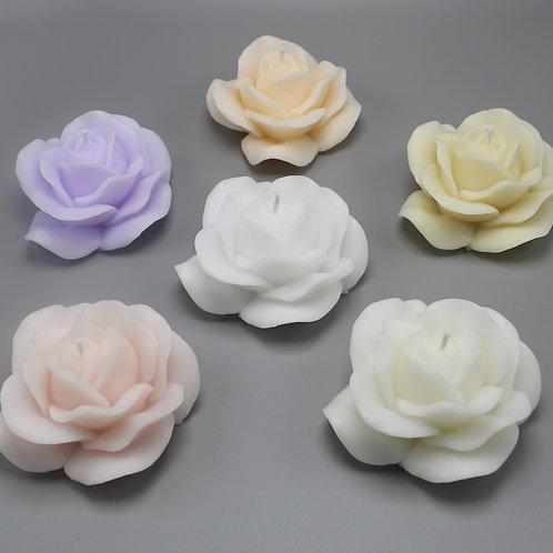 Rosenblüten-Kerzen