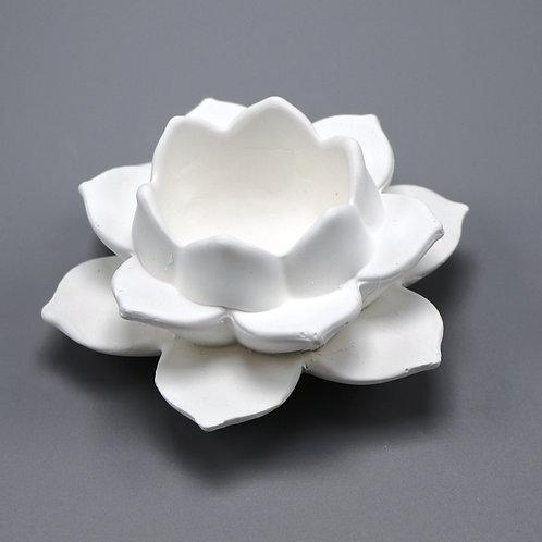 Teelicht-Lotusblüte
