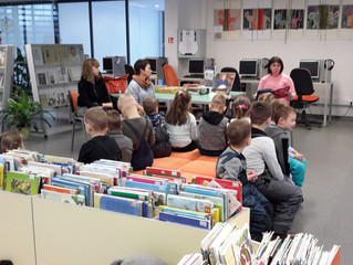 """""""Knygų Kalėdos"""" Elektrėnų bibliotekoje"""
