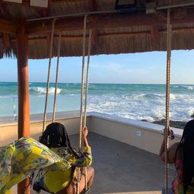 We Left Just in Time- Riviera Maya, Mexico